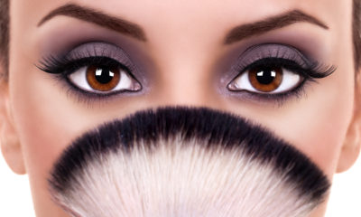 Eye makeup based on the law of attraction