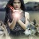 Cherokee parable two wolves image