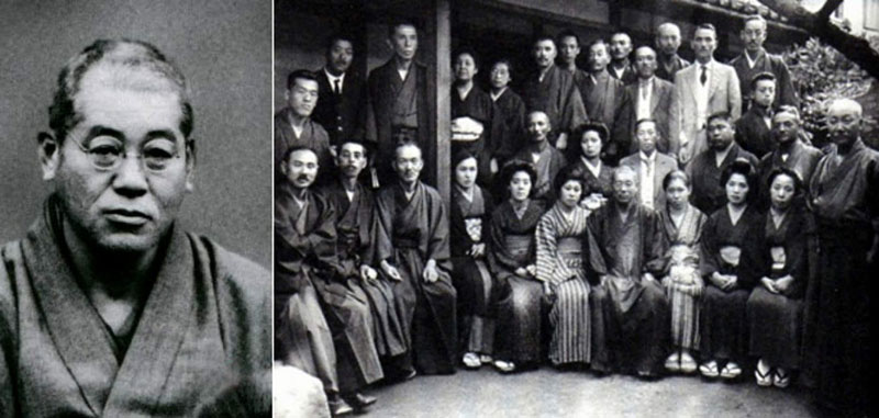 Mikao Usui With His Students Picture