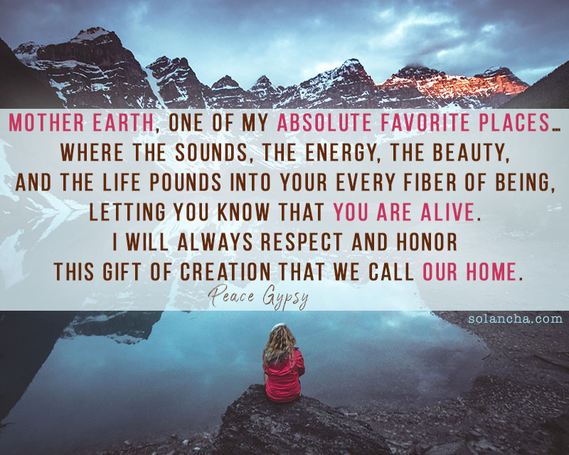 Mother Earth Quote Image