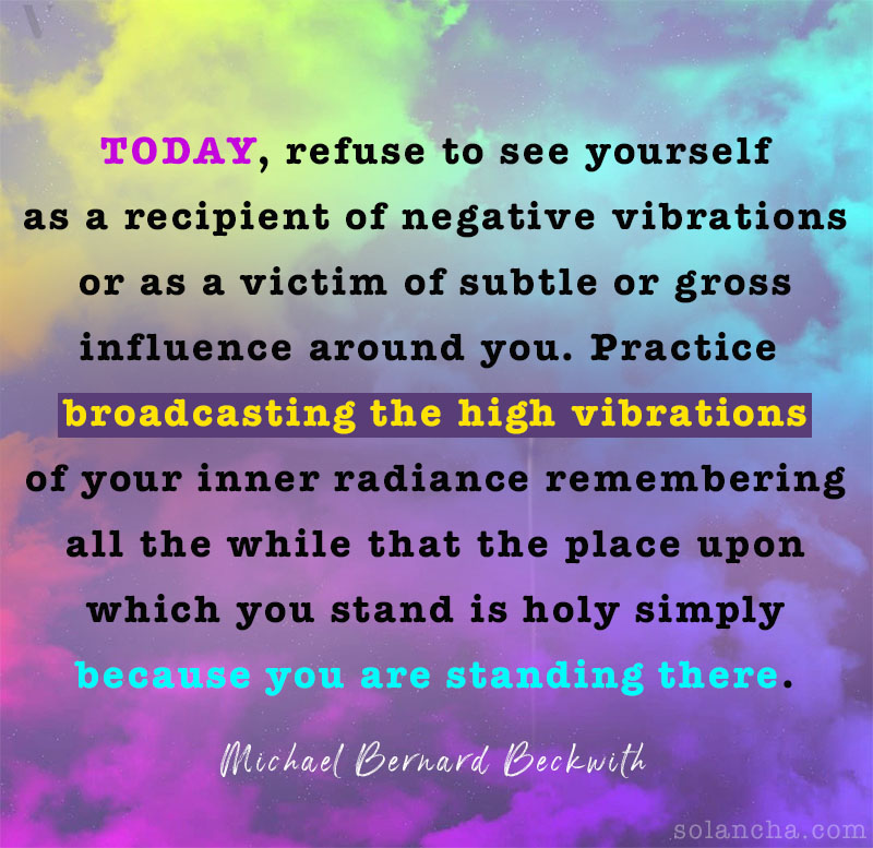 High vibrations quotes Image