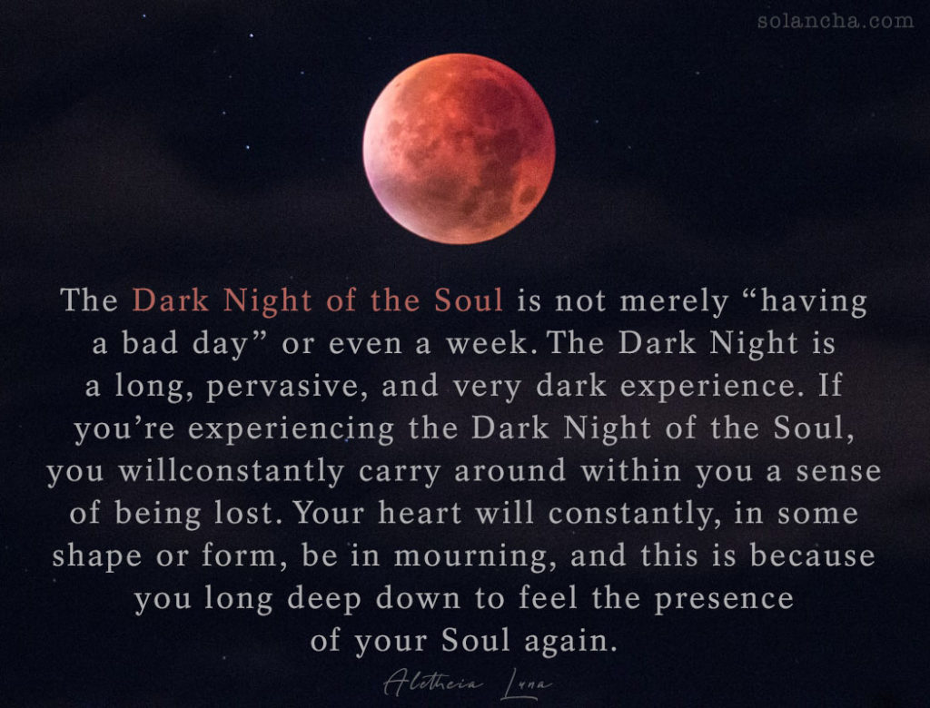 dark night of the soul quote image
