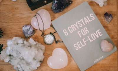 crystals for self-love image