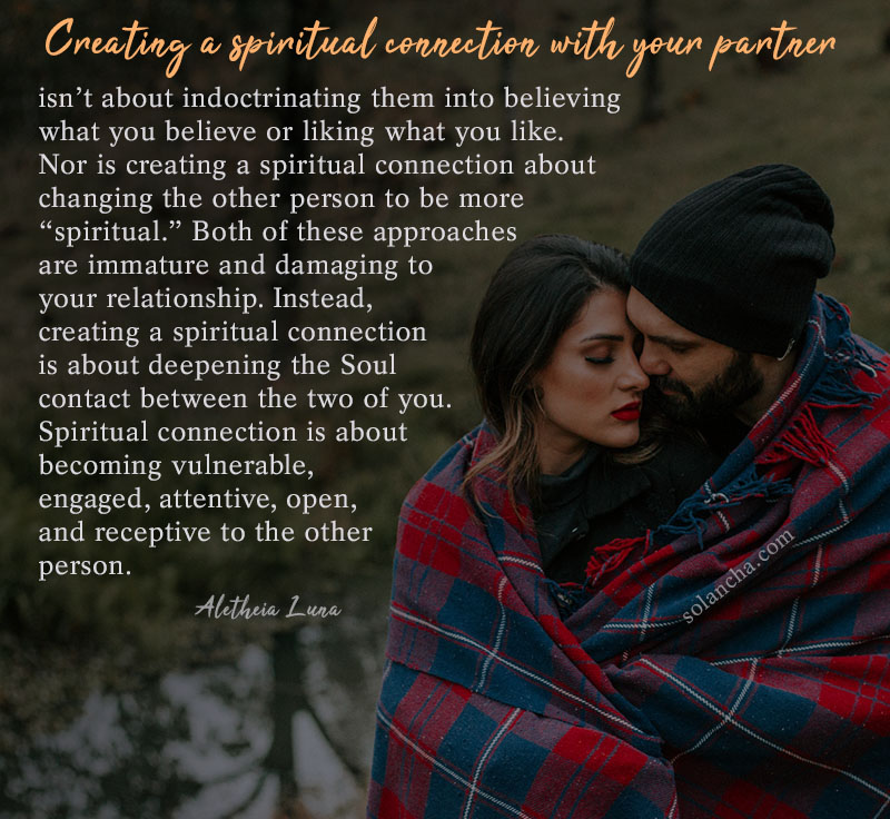 creating a spiritual connection quotes image